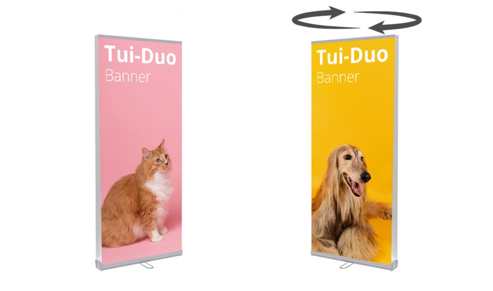 Pull-up Banner Double Sided 850mm